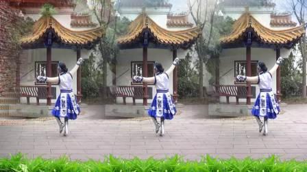舞痴广场舞:蒙古舞《心之寻》编舞燕剪春、演绎舞痴、摄像老七、制作花飞情雪