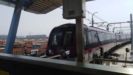 南京地铁s3号线(021022)刘村折返(2)