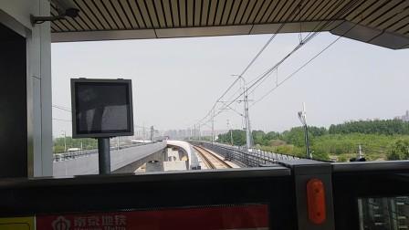 南京地铁s3号线(021022)出刘村站,(033034)进刘村站。