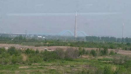 南京地铁s3号线(007008)马骡圩区间临时停车后起步到达马骡圩。