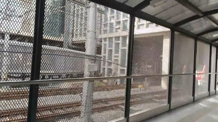 南京地铁二号线(063064)油坊桥折返,(071072)停在那,可惜我没赶上~