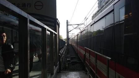 南京地铁二号线(063064)进油坊桥站。