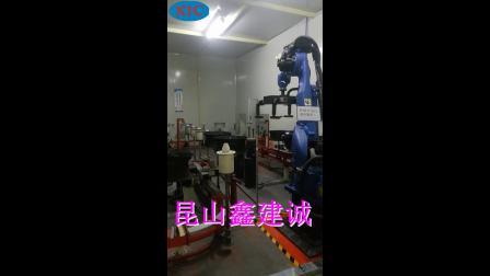 喷漆机器人-汽车轮毂移栽设备-自动移栽机厂家-鑫建诚自动化