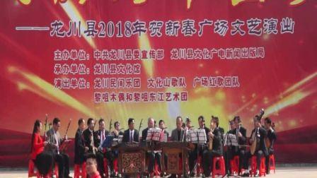 龙川县民乐团2018年贺新春演出