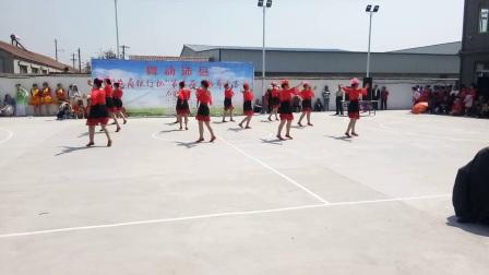 王其民广场舞第六届广场舞比赛三河尖代表队