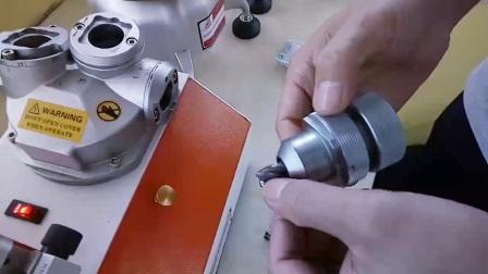 老鹰机械GD-313B铣刀研磨机操作视频