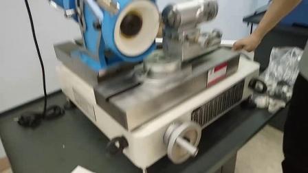老鹰机械GD-66G高精度铣刀研磨机操作视频