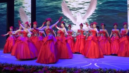 大冶市模特委员会表演:晚装秀 《我们的中国梦》编导老师:(包萍)