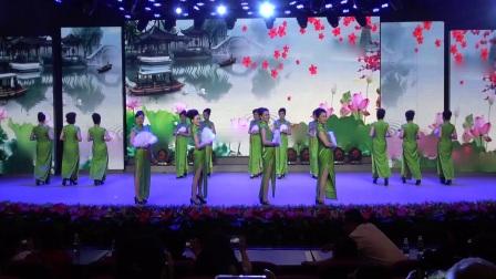 黄石市星海潮艺术团时装舞蹈队表演:《春江花月》编导老师:(万学彩)
