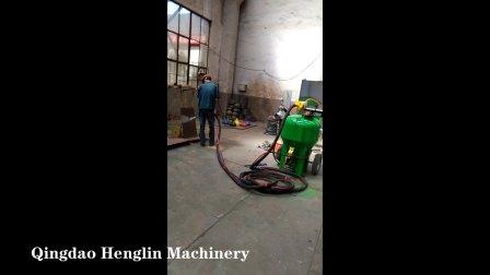 青岛恒林集团:DB500无尘喷砂机工作视频 (4)