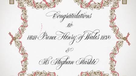 斯迈森为英国皇室婚礼准备的祝福!