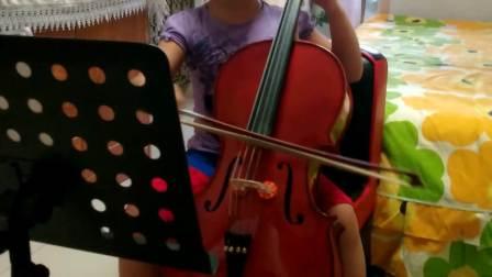 咪咪小盆友大提琴练习曲《快乐的农夫》
