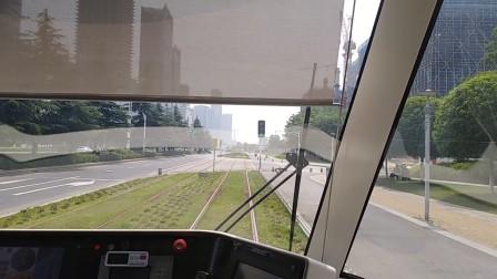 南京河西有轨电车,富春江西街至元通。