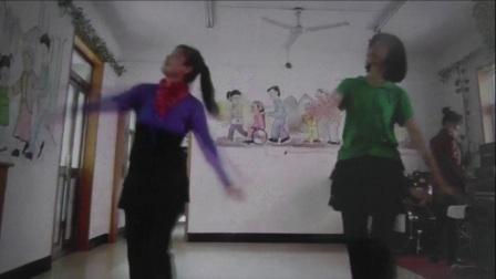 沈北新区喜洋洋广场舞-美丽的牧羊姑娘表演-喜洋洋 郭秀华.mp4