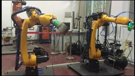 20180417  双机器人变姿态测试