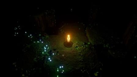 墨丹文《蜡烛人》03被火烧的小蜡烛