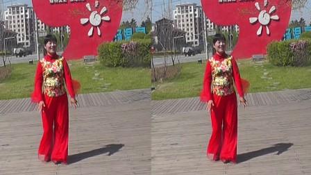 沈北新区喜洋洋广场舞-达林我爱-你个人版表演喜洋洋.mp4