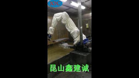 喷漆机器人-汽车大件喷涂机-自动喷漆设备厂家-鑫建诚自动化