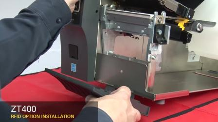 ZT400 RFID模块的安装(英语无字幕)