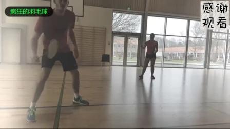 羽毛球反手击球太难  那是因为你没这样练