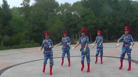 沈北新区喜洋洋广场舞-美丽的遇见5人.mp4
