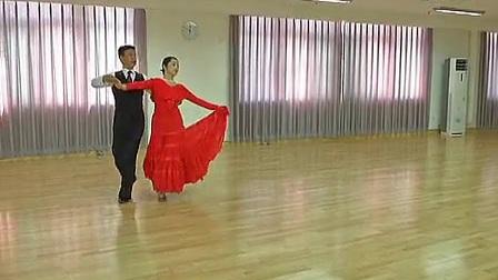 广场交谊舞中三步_标清