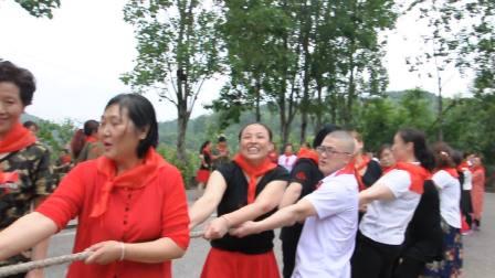"""南岸休闲舞蹈队庆""""六.一""""拔河比赛"""
