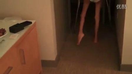 我在Barefoot Walk截了一段小视频