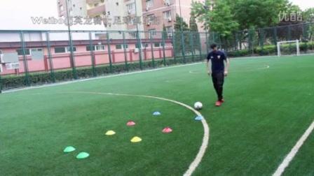 我在【Dragon Soccer Club 英龙骑士足球俱乐部】The Short Inside Pass 脚内侧短距离传球截了一段小视频