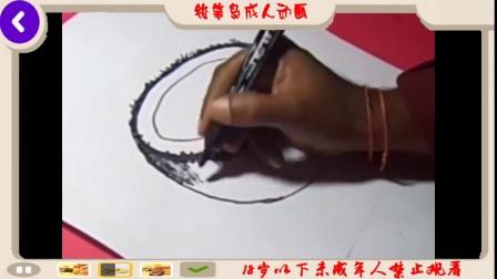 如何逐步为孩子画椰子