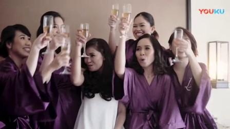 我在2017.08.01 Mayad Tagaytay Wedding of Abby and Brice截了一段小视频
