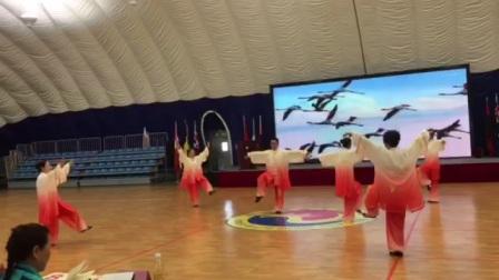 安徽省健身气功气舞交流比赛3