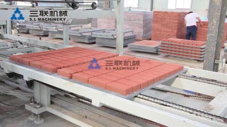 制砖生产线离线码垛系统