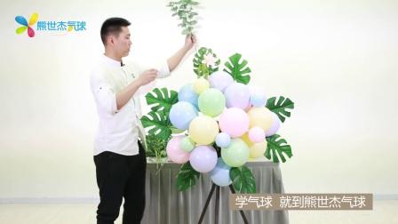 气球豪华花篮-3-插花部分