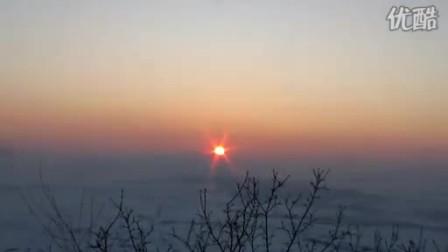 吉林永吉口前的日环食