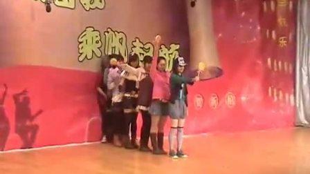 元旦联欢会girls generation舞蹈表演