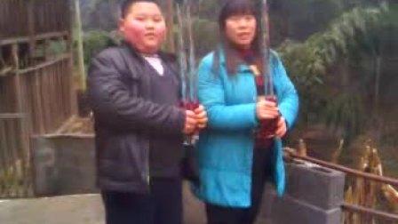 2010年春节石门壶瓶山大冰棒