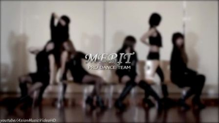 [韩音小筑]韩国专业舞蹈团队 模仿T-ARA 最新大热舞曲 因你而疯