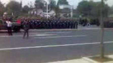 中国人民解放军建军80周年湖南省阅兵