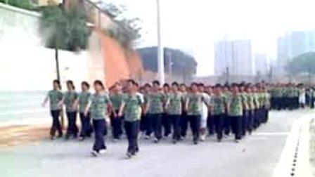 中南林业科技大学——2008届军训汇操(十八连一排)