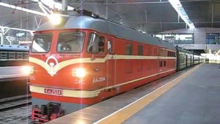 4420次正点从天津站发出