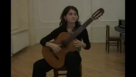 范尼弹西班牙舞曲5号- Spanish dance No.5 - Gvaneta Betaneli