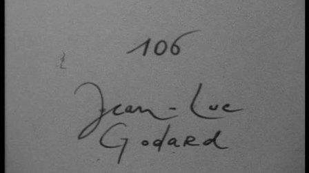 120 cinematons--0106 Jean-Luc Godard让 吕克 戈达尔