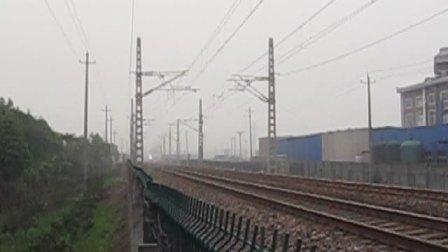 萧甬铁路线(衙前村拍车)一D5582次