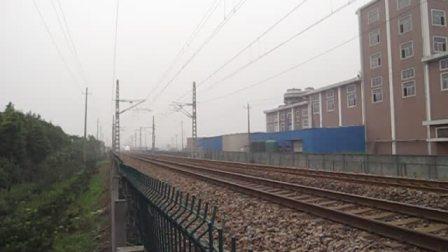 萧甬铁路线(衙前村拍车)一D5600次