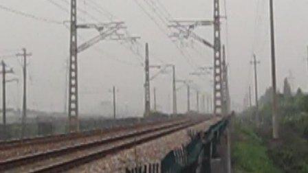 萧甬铁路线(衙前村拍车)一D5551次