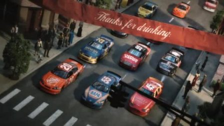 [阿德曼定格动画广告集]Coca.Cola.Nascar'Thankyou.Race'Chopsy