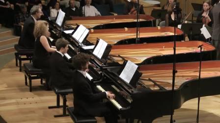 Bach-Vivaldi-Concerto for 4 Pianos-MultiPiano Ensemble
