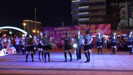 水兵舞(阿哥阿妹)组合秋之韵舞蹈队大丰演出