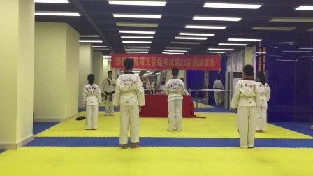 2018年宪哥考跆拳道黄带片段一